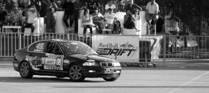 BMW Serie3 E46 Red Bull Car Park Drift Carthage 2014 10 border